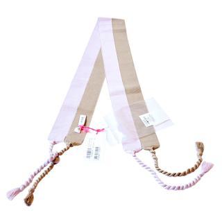 See by Chloe fabric tassel belt