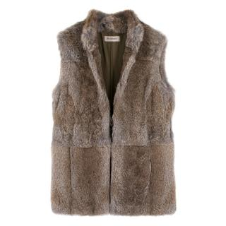 Purdey rabbit fur gilet