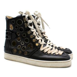 Christian Louboutin Alfibully Flat Black Men's Sneakers