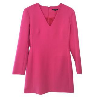 Tara Jarmon bright pink dress, size 40 unworn