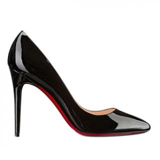 Christian Louboutin Pigalle 100 patent calf umps