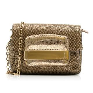 Jimmy Choo Glitter Crossbody Mini Bag