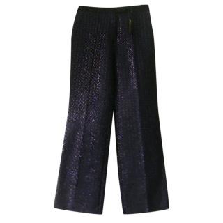 Robert Cavalli Metallic Trousers