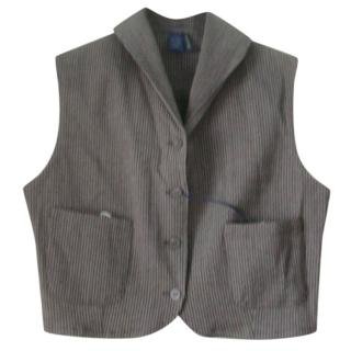 Romeo Gigli Pin Striped Gilet Vest