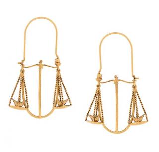 Givenchy Libra zodiac earrings