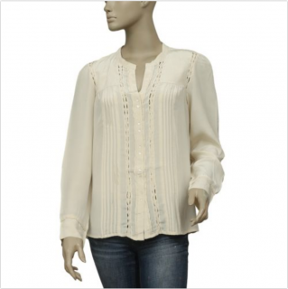 397315f147540 Gerard Darel Silk Blouse