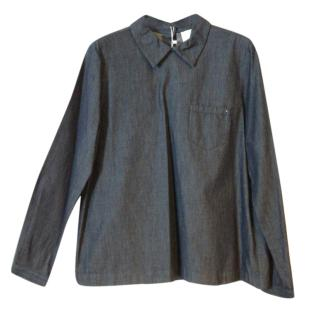 Max Mara A-line Denim Shirt