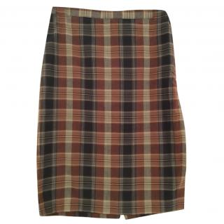 Polo Ralph Lauren checked skirt