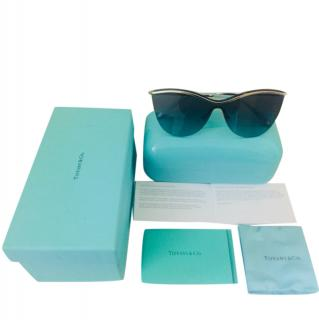 Tiffany TF3058 Silver-Azure Sunglasses