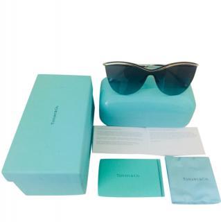 Tiffany TF3058 Silver-Azure Sunglasses