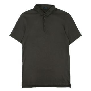 Lanvin Slim-Fit Pique Polo Shirt