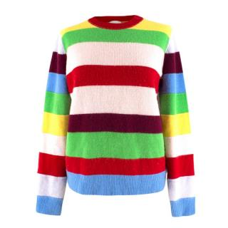 Madeleine Thompson striped-cashmere sweater
