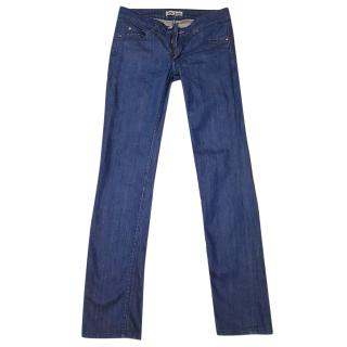 Acne women's straight jeans