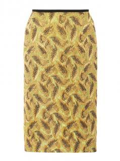 Dries Van Noten Embellished Jacquard Skirt