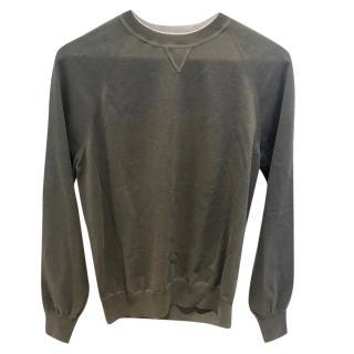 Brunello Cucinelli Khaki Sweater