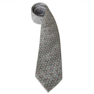 Nina Ricci Pastel Silk Neck Tie
