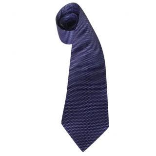 Andre Claude Canova Pearls Silk Neck Tie