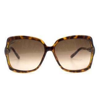 Gucci Bamboo square-frame sunglasses