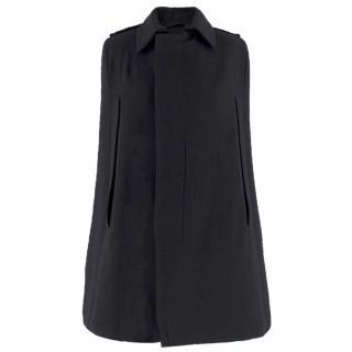 AF Vandevorst black wool cape