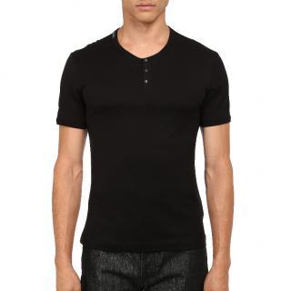 Dolce & Gabbana black cotton-jersey T-shirt
