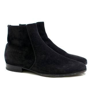 Tom Ford Black Suede Boots
