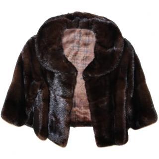 Saga Mink Fur Bolero Jacket