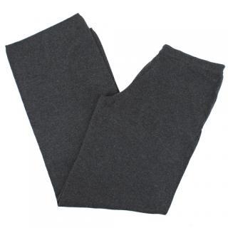 Debonnaire straight-leg cashmere trousers