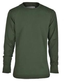 SU Sudio SSD-451 quilted green sweatshirt