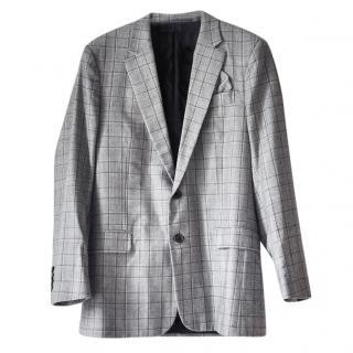 Kris Van Assche Plaid Jacket - size 48