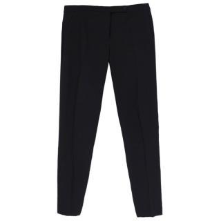 Nicole Farhi Black Straight Trousers