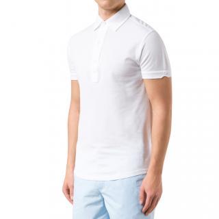 Orlebar Brown White Polo Shirt