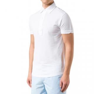 Orlebar Brown White Polo Shirt