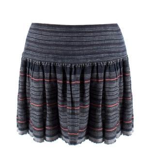 Isabel Marant Striped Knit Mini Skirt