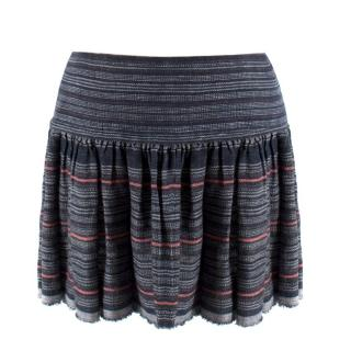 Isabel Marant Striped Knit Mini Skirt