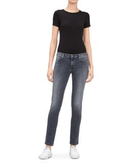 7 For All Mankind Ronnie Skinny Jeans Mid Grey