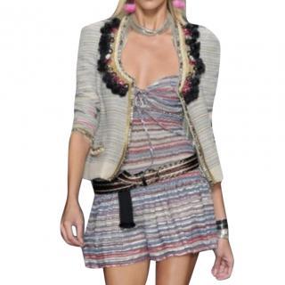 Isabel Marant Silk Striped Mini Dress