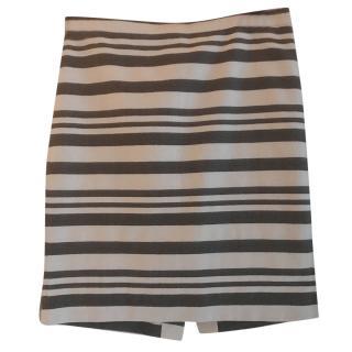 J.Crew striped skirt