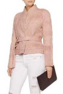 Iro hawaispe cotton-matelasse jacket
