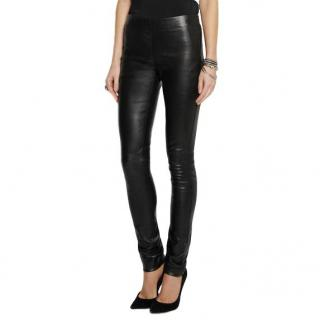 Joseph Skinny Leather Leggings