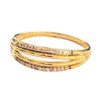 & You Diamond Anniversary Band in Gold