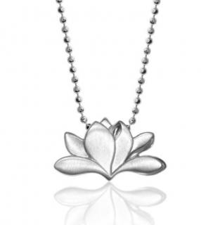 Alex Woo Magnolia Sterling Silver Necklace