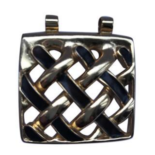Lanvin Gold & Enamel Pendant