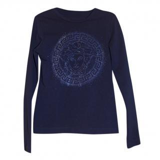 Versace Medusa girls top