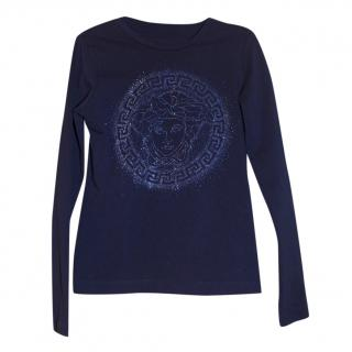 Versace Medusa girls top