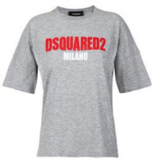 DSquared DSquared2 Milano Grey T-Shirt