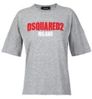 DSquared DSquared2 Milano Grey T-Shirt
