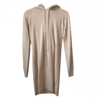 Dior Mink Trimmed Cashmere Hooded Top