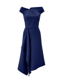Roland Mouret Navy Blue Barwick dress as worn by Meghan Markle