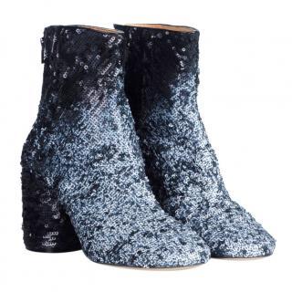 Maison Martin Margiela Sequin Ankle Boots
