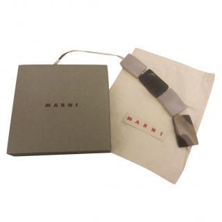 Marni self-tie bracelet